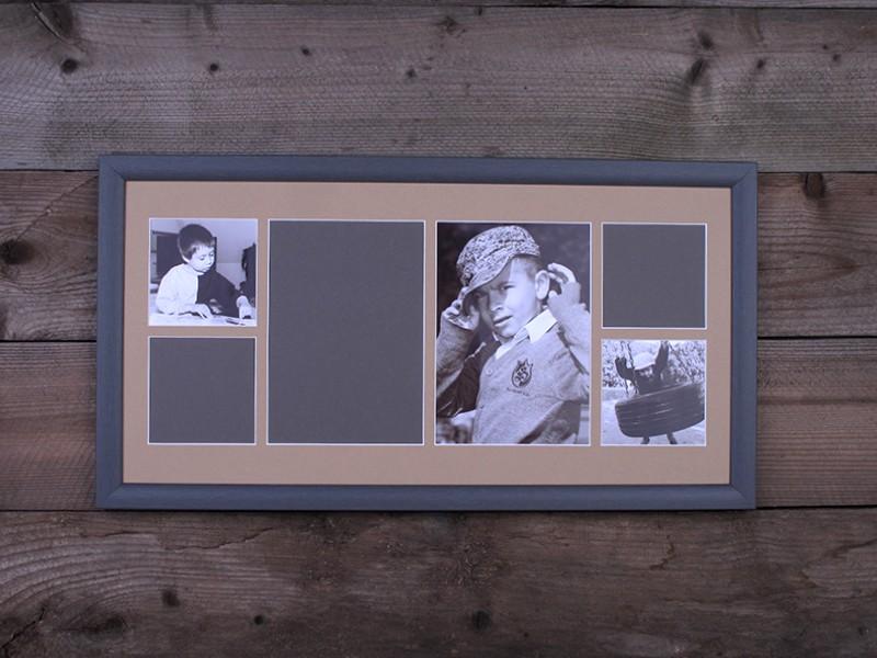 Gallery képkeret 6 ablakos 50 x 25 cm