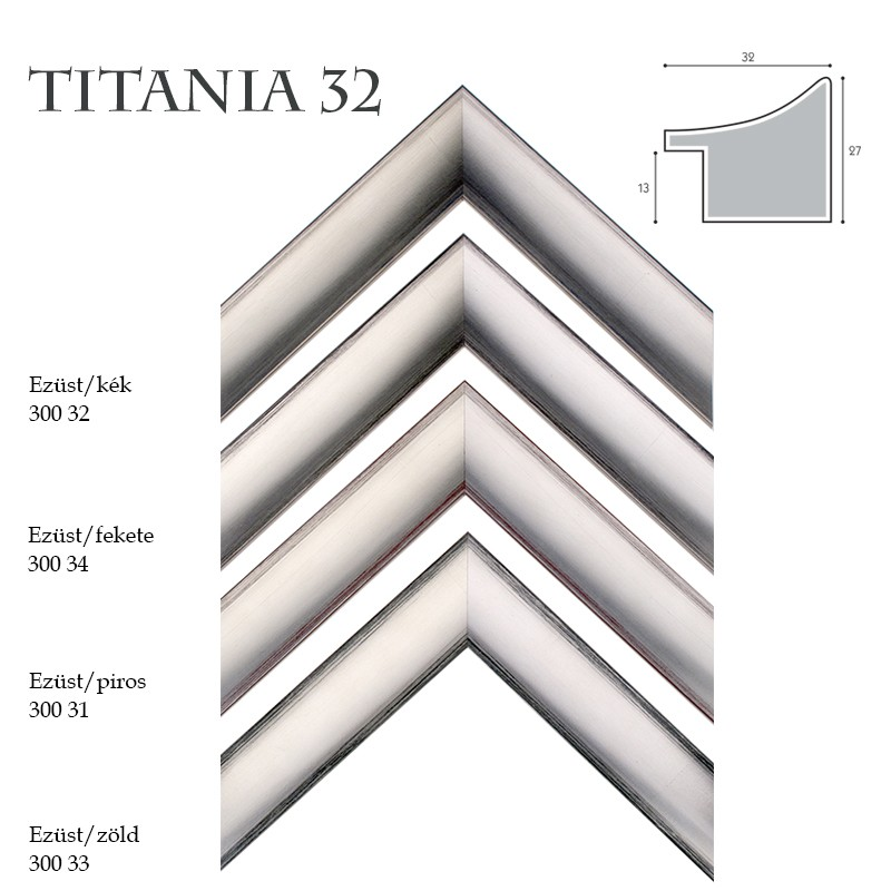 Titánia 32 Képkeret