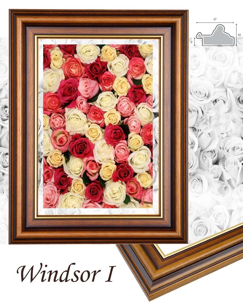 Windsor I. barna arannyal képkeret