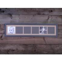 Gallery képkeret 6 ablakos 70 x 15 cm