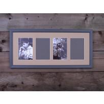 Gallery Képkeret 4 ablakos 52x 22.5 cm