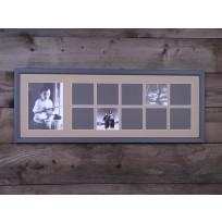 Gallery képkeret 11 ablakos 70 x 25 cm