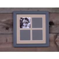 Gallery Képkeret 4 ablakos 20 x 20 cm