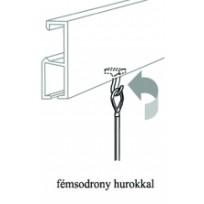 No. 14 Fémsodrony hurokkal + műanyag horog egységcsomag