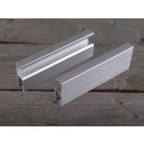 Standard képakasztó sín matt ezüst