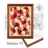 Windsor VI. barna arannyal képkeret